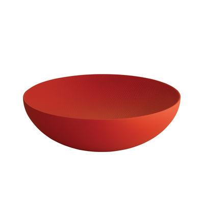 Coupe Double Ø 25 cm Alessi rouge en métal