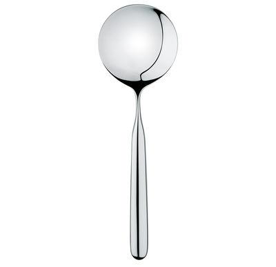Cucina - Utensili da cucina - Cucchiaio da portata - per risotto di Alessi - Acciaio brillante - Acciaio inossidabile
