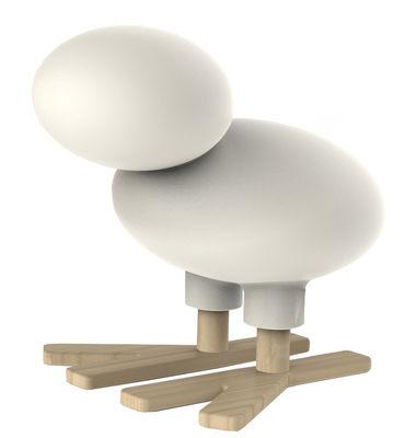 Décoration Happy Bird / Décoration - H 66 cm - Magis Collection Me Too blanc en matière plastique