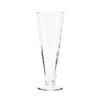 Arts de la table - Verres  - Flûte à champagne Vintage / Verre ciselé - House Doctor - Transparent - Verre ciselé