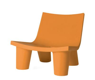 Low Lita Lounge Sessel - Slide - Orange