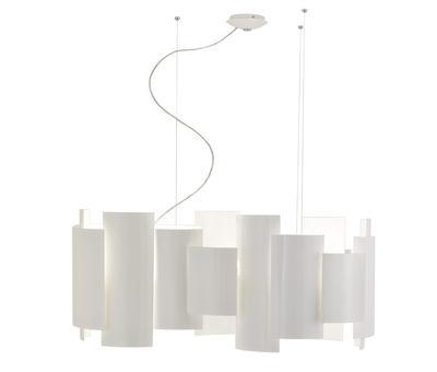 Skyline Pendelleuchte Ø 90 cm - Lumen Center Italia - Weiß