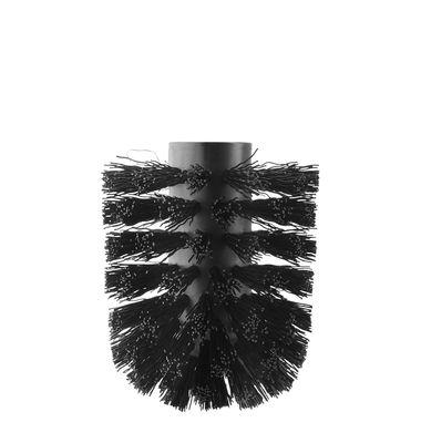 Accessori moda - Accessori bagno - Spazzola di ricambio - / Per Scopino WC Eva Solo di Eva Solo - Nero - Plastica