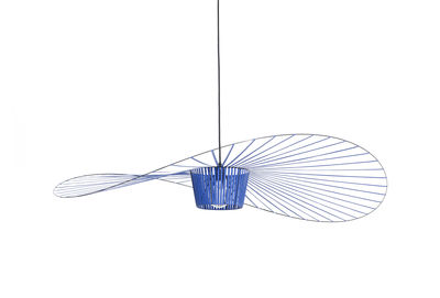 Suspension Vertigo Small / Ø 140 cm - Petite Friture bleu cobalt en matière plastique