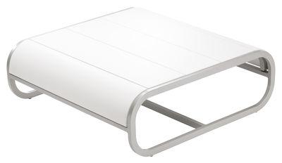 Table basse Tandem version corian - EGO Paris blanc en matériau composite