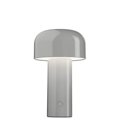 Lighting - Table Lamps - Bellhop Table lamp - / Wireless - Refill via USB by Flos - Grey - Polycarbonate