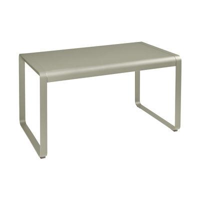 Jardin - Tables de jardin - Table rectangulaire Bellevie / 140 x 80 cm - Métal - Fermob - Muscade - Acier, Aluminium