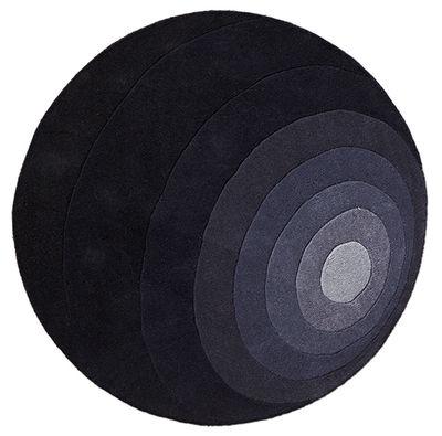 Luna Teppich / Ø 120 cm - Panton 1965 - Verpan - Grau