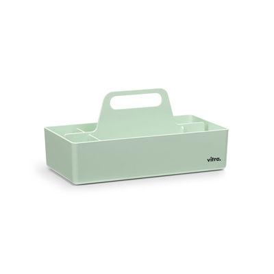 Image of Vaschetta portaoggetti Toolbox - / Scompartimentato - 32 x 16 cm di Vitra - Verde - Materiale plastico