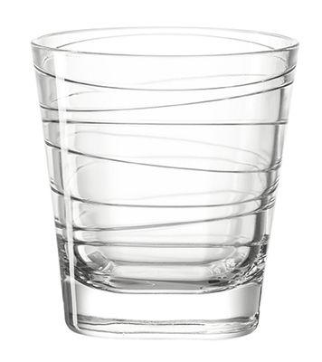 Arts de la table - Verres  - Verre à whisky Vario / H 9 cm - Leonardo - Transparent - Verre
