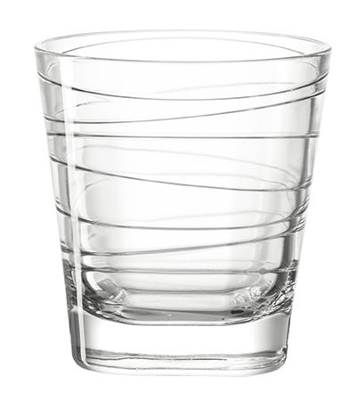 Tableware - Wine Glasses & Glassware - Vario Whisky glass - H 9 cm by Leonardo - Transparent - Glass