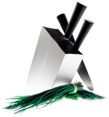 Bloc à couteaux / Incliné - Eva Solo noir,acier en métal