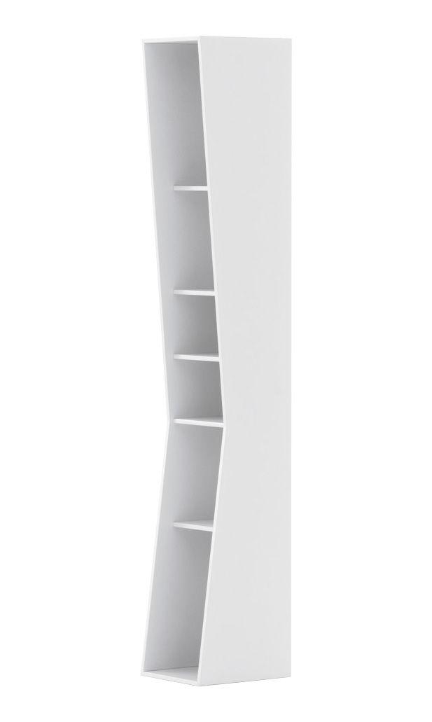 Möbel - Regale und Bücherregale - Uptown Bücherregal - Opinion Ciatti - 147 cm / weiß - lackierte Holzfaserplatte