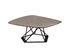 Poliedrik Coffee table - / Stratified oxidisation effect - L 87 cm by Zeus