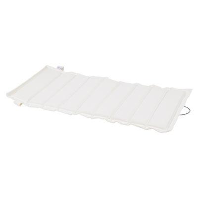 Coussin / Pour fauteuil bas Luxembourg - Fermob blanc en tissu