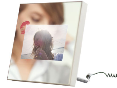 Specchio by Martin Szekely Digital photo frame by Parrot - Bronze / mirror - Glass, Plastic material