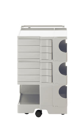 Furniture - Miscellaneous furniture - Boby Dresser - H 73 cm - 6 drawers by B-LINE - White - ABS