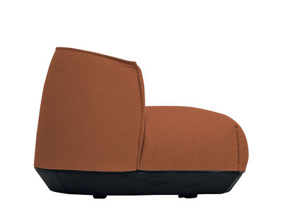 Chaise Brioni / Lounge - Small - Kristalia orange en tissu