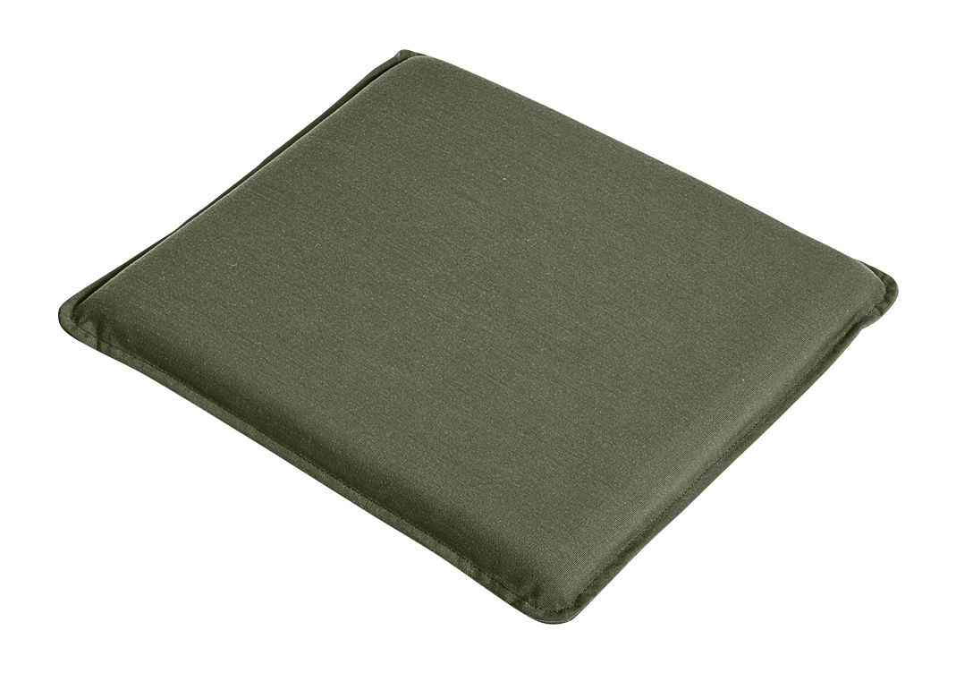 Decoration - Cushions & Poufs - Flat seat cushion - / For Palissade chair & armchair by Hay - Olive green -  Toile Olefin, Foam