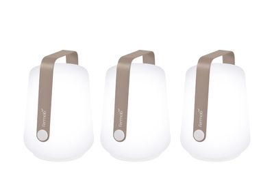 Balad Lampe ohne Kabel / H 13,5 cm - 3er-Set - Fermob - Muskat