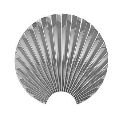 Patère Concha / Métal - H 11,5 cm - AYTM argent en métal