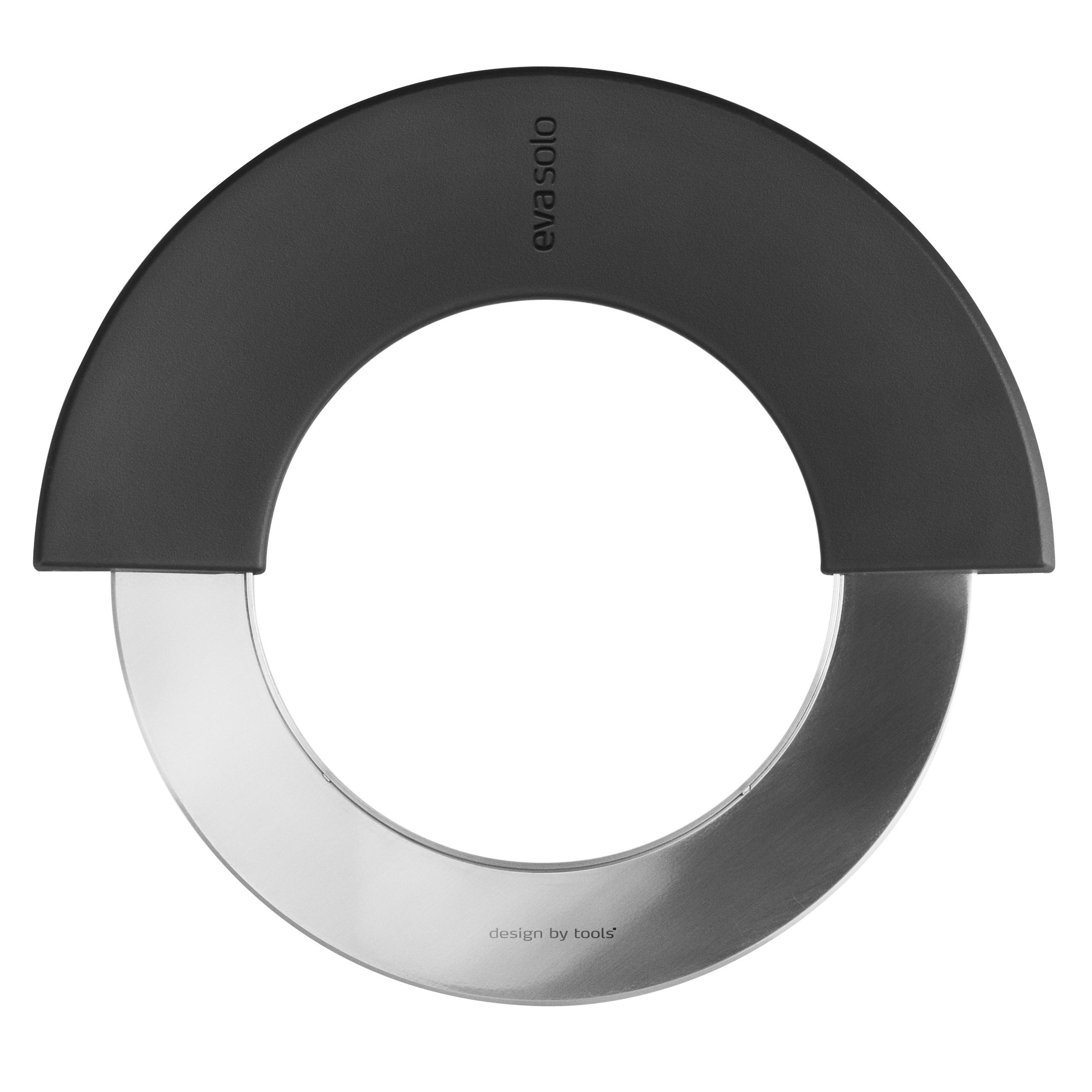 Kitchenware - Kitchen Equipment - Cut 'N Slice Pizza cutter by Eva Solo - Black - Plastic material, Stainless steel