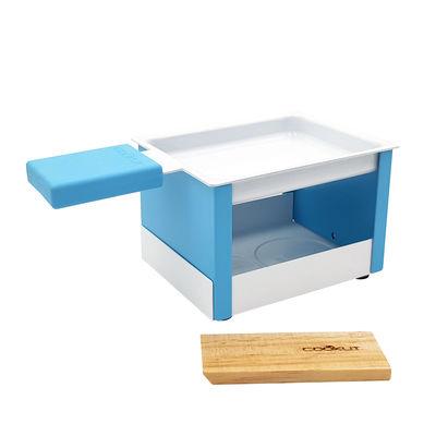 Set Yeti / Pour raclette à la bougie - 1 personne - Cookut bleu en métal