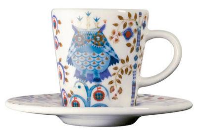 Soucoupe / Pour tasse à espresso Taika - Iittala blanc en céramique