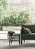 Table d'appoint Mos / 50 x 47 cm - Cannage & bois - Wiener GTV Design
