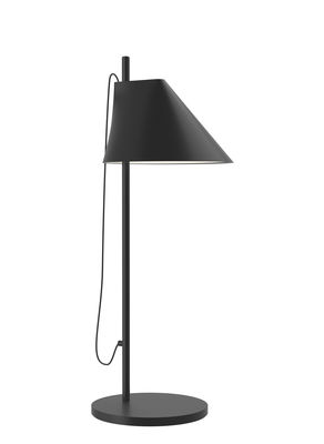 Lighting - Table Lamps - Yuh LED Table lamp - / H 61 cm by Louis Poulsen - Black - Lacquered aluminium, Lacquered brass