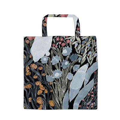 Accessories - Bags, Purses & Luggage - Louhi Tote bag - / Cotton by Marimekko - Louhi / Black, blue, red - Cotton