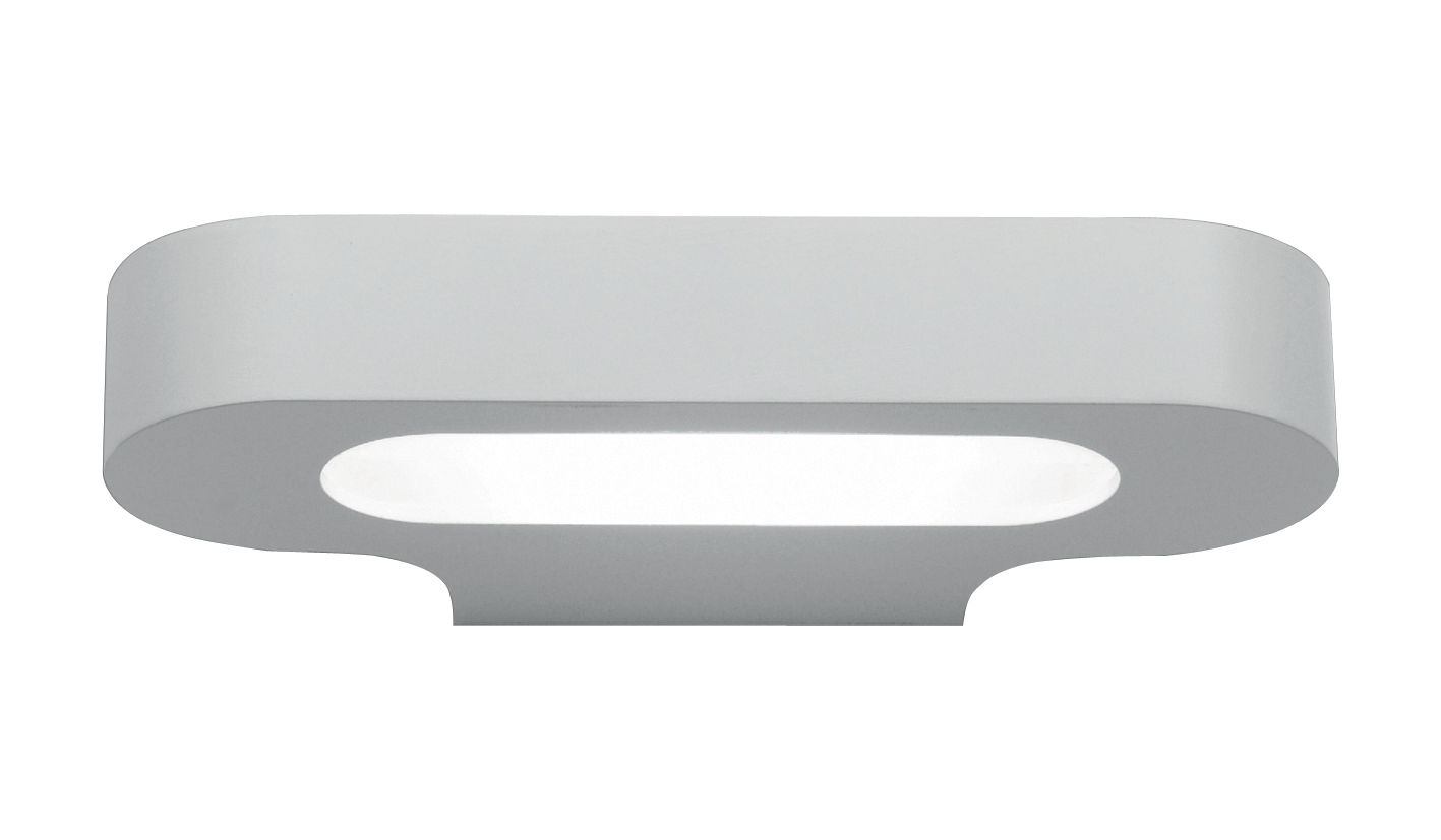 Lighting - Wall Lights - Talo LED Wall light by Artemide - White - Varnished aluminium