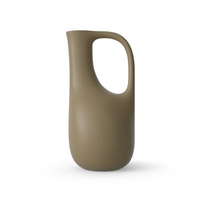 Outdoor - Pots & Plants - Liba Watering can - / 100% recycled plastic - 5 litres by Ferm Living - Olive green - Recycled plastic