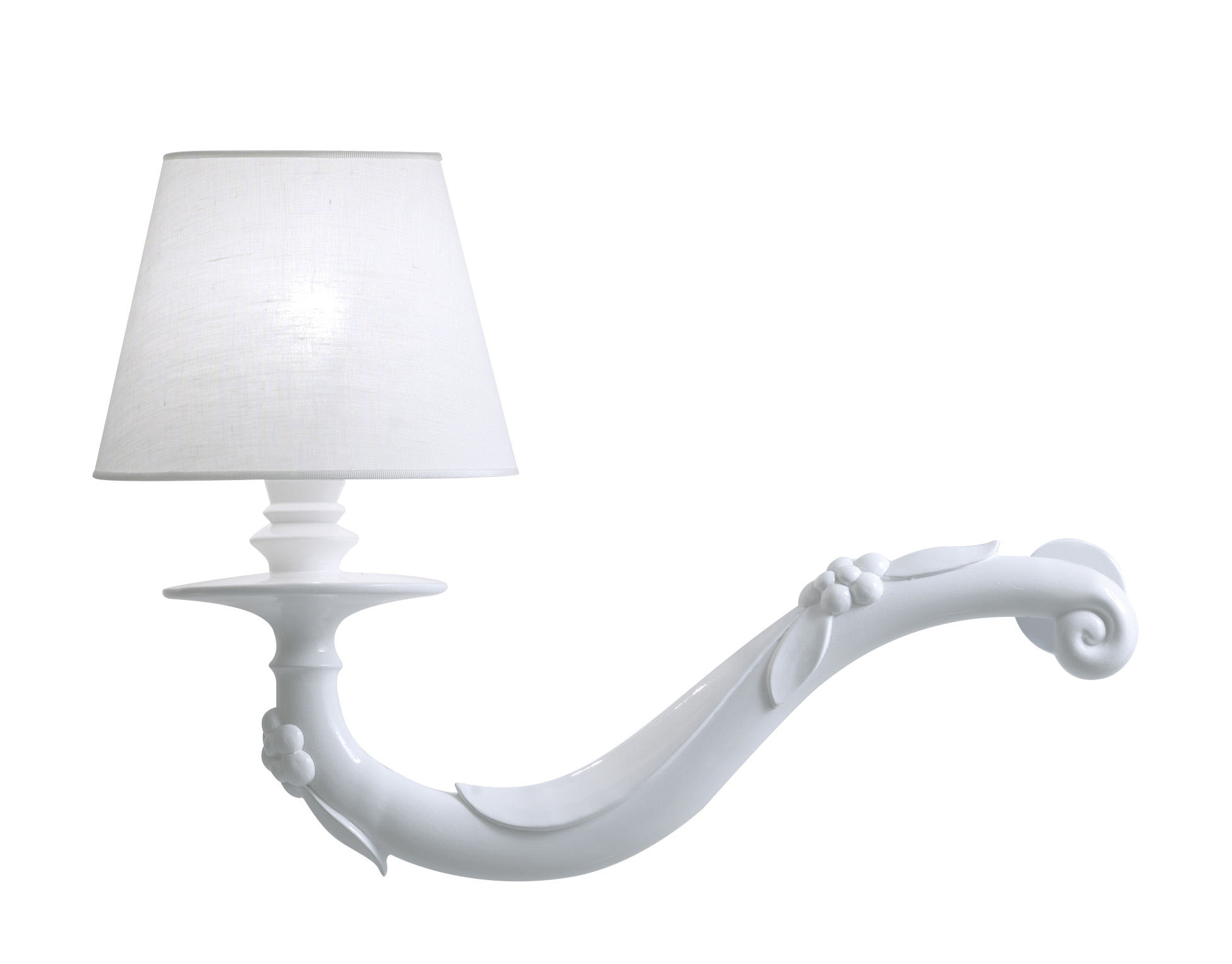 Applique déjà vu karman blanc l 45 x h 32 made in design