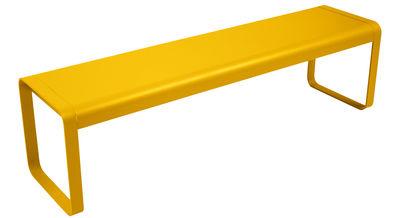 Banc Bellevie / L 161 cm - 4 places - Fermob miel en métal