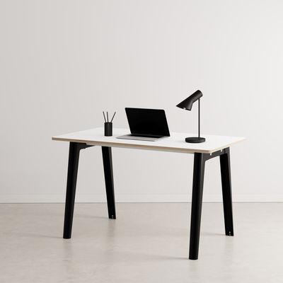 Bureau New Modern / 130 x 70 cm - Stratifié - TIPTOE noir en métal/bois