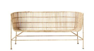 Cuun Sofa 2 Sitze / 2-Sitzer - L 140 cm - House Doctor - Rattan