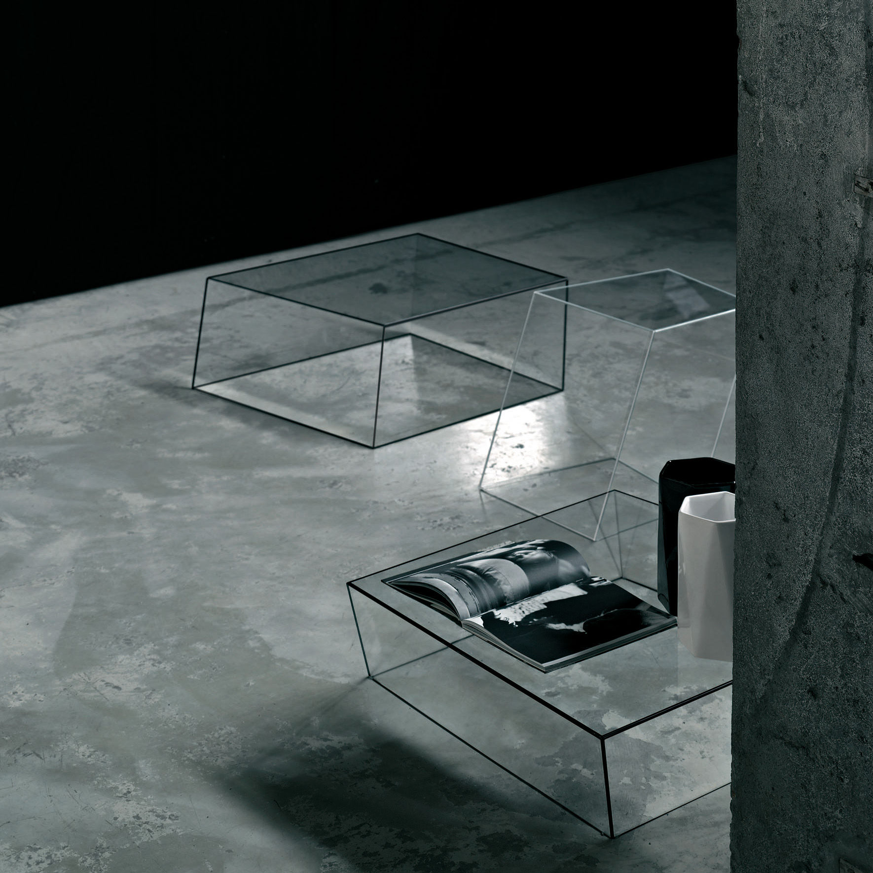Furniture Coffee Tables Wireframe Table 75 X 87 Cm By Glas Italia