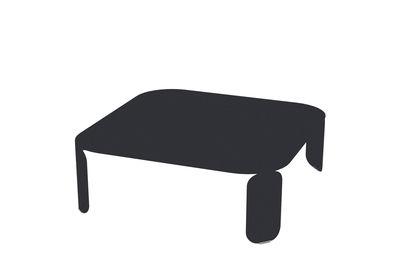 Bebop Couchtisch / L 90 cm x H 29 cm - Fermob - Karbon