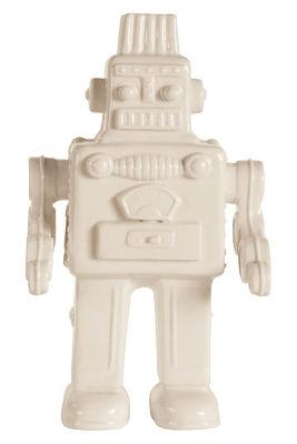 Décoration Memorabilia My Robot / Robot en porcelaine - Seletti blanc en céramique
