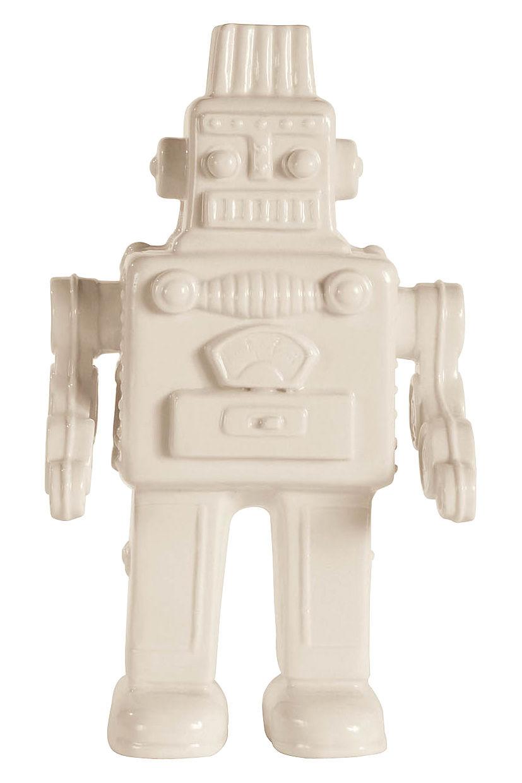 Dekoration - Dekorationsartikel - Memorabilia My Robot Dekoration Roboter aus Porzellan - Seletti - Weiß - Roboter - Porzellan