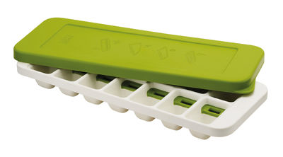 Tableware - Wine Accessories - QuickSnap Plus Ice-cube tray by Joseph Joseph - Green,White - Polypropylene, Silicone