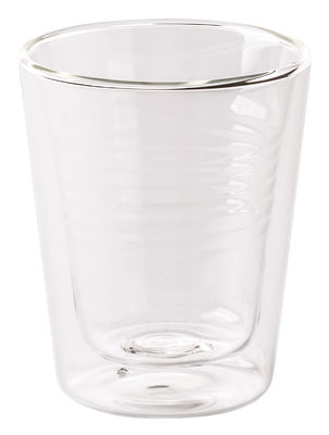 Tableware - Coffee Mugs & Tea Cups - Estetico Quotidiano Insulated mug - Double wall by Seletti - Transparent - Borosilicate glass