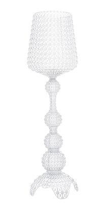 Illuminazione - Lampade da terra - Lampada Kabuki / LED - H 165 cm - Kartell - Cristallo - Technopolymère thermoplastique