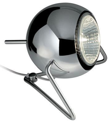 Illuminazione - Lampade da tavolo - Lampada da tavolo Beluga - Versione metallo di Fabbian - Cromato - Metallo cromato