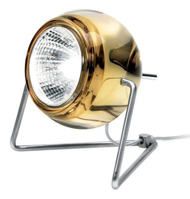 Image of Lampada da tavolo Beluga - Versione vetro di Fabbian - Giallo - Metallo/Vetro