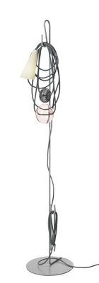 Lampadaire Filo / H 152 cm - Foscarini multicolore en métal