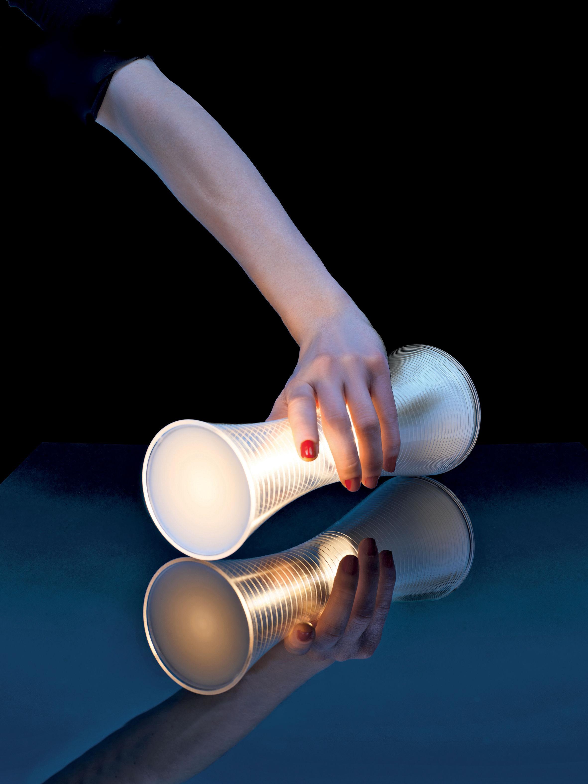 Lampe ohne Kabel Come Together von Artemide - Weiß ...