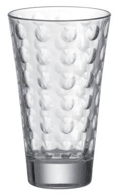 Tischkultur - Gläser - Optic Longdrink Glas - Leonardo - Transparent - beschichtetes Glas