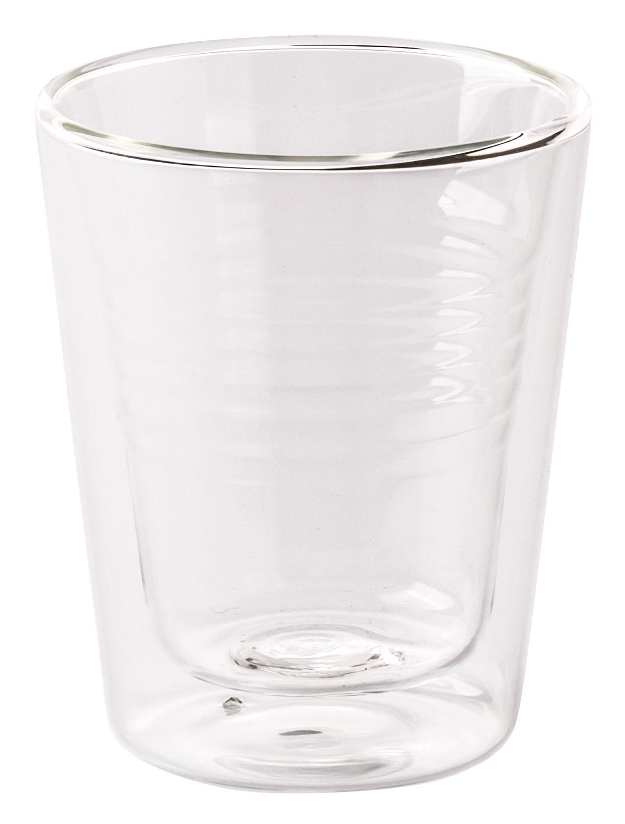 Arts de la table - Tasses et mugs - Mug isotherme Estetico Quotidiano / Verre - Seletti - Transparent - Verre de borosilicate